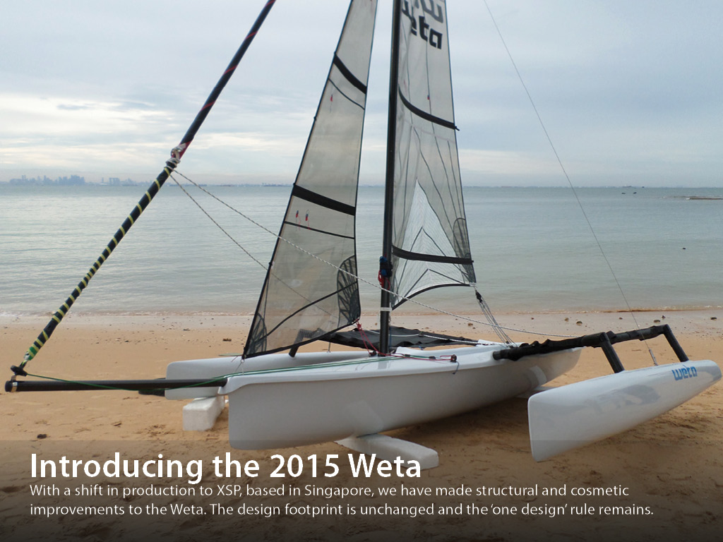 Weta 2015 debuts at Auckland On Water Boat Show